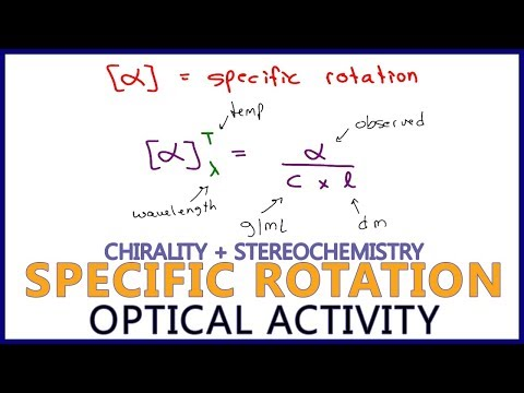 Specific Rotation and Observed Rotation Calculations in Optical Activity