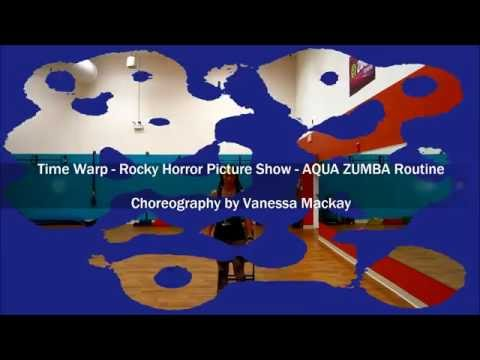 Time Warp – Rocky Horror Picture Show – Water aerobic fitness / Aqua Zumba