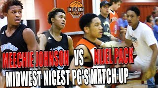 Two of Midwest Finest PG Nijel Pack vs Meechie Johnson GO HEAD TO HEAD AT RUN-N-SLAM