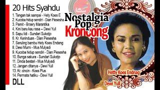 Nostalgia POP Kroncong: Syahdu di siang bolong
