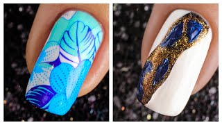 Cute Nail Art Design 2019 ❤️💅 Compilation   Simple Nails Art Ideas Compilation #35