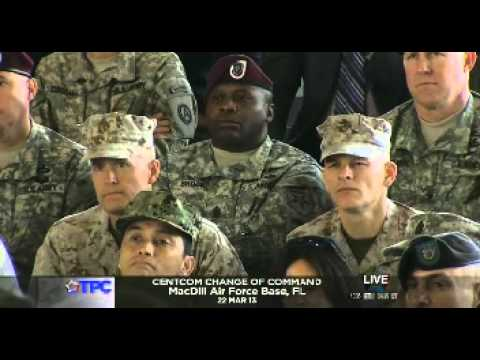 General Mattis Full Remarks at CENTCOM Change of Command Ceremony