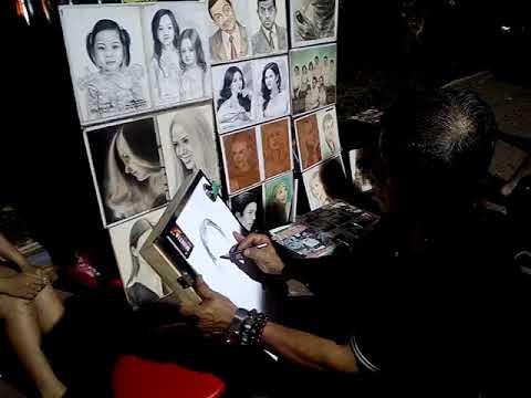 Hanoi artist drawing part 2