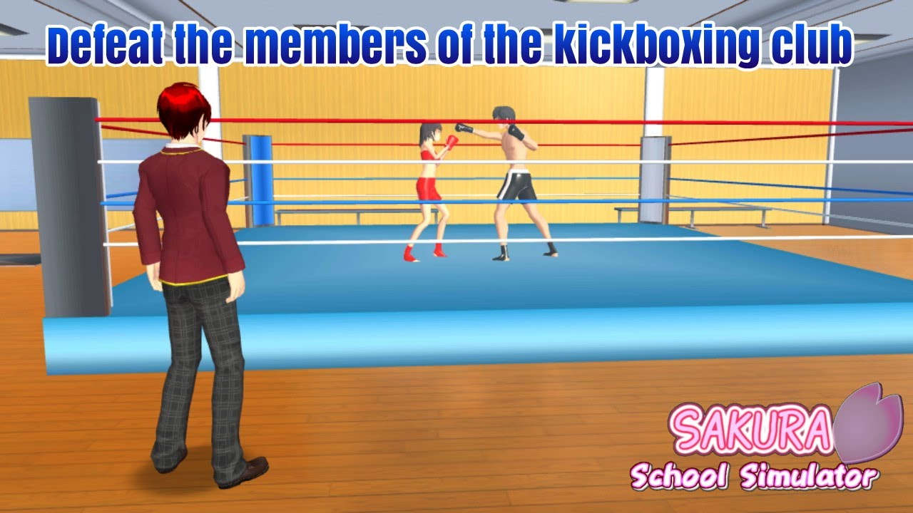 Misi Defeat The Members Of The Kickboxing Club Sakura School