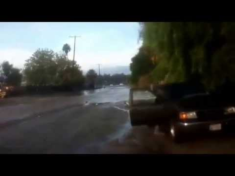 Flooding in San Jacinto CA. Pt.1