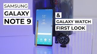 Samsung Galaxy Note 9 & Galaxy Watch First Look | Trusted Reviews