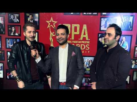 Abdullah Farhatullah & Wajahat Rauf | Host Ali Saleem | Red Carpet | I.P.P.A. Curtain Raiser | 2017