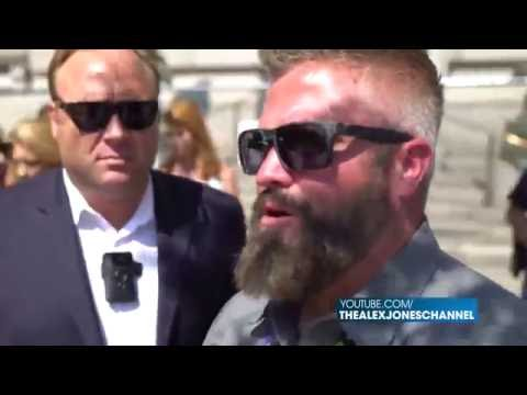 MUST SEE! Epic Alex Jones Encounter With Radical Left-Wing Communist Agitators