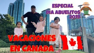 AMO A MI ABUELITO   /  VACACIONES EN CANADA / VIDEOS PARA NIÑOS