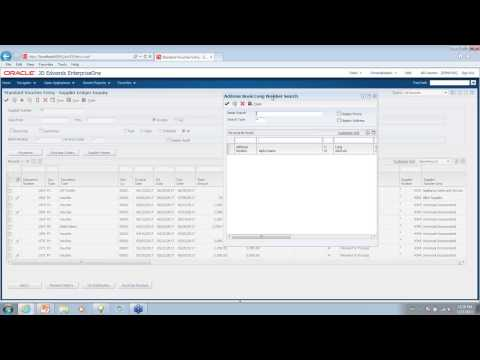 A demo of the new JD Edwards EnterpriseOne 9.1 User Interface, by JDEtips