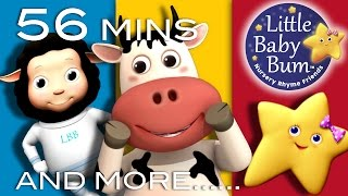 If You're Happy And You Know It | Plus Lots More Nursery Rhymes | 56 Minutes from LittleBabyBum!