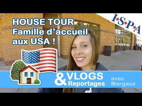 #HouseTour Famille d'accueil - VLOG USA #7 - Margaux avec ISPA