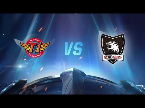 Worlds 2016: SKT vs ROX 5. Maç - Yarı Final