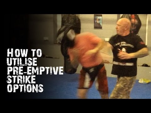 Krav Maga Self Defence - Pre-Emptive Strike Options