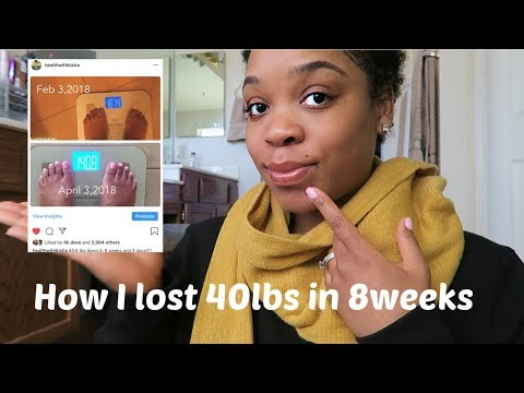 HOW I LOST 40 lbs IN 8 WEEKS!!! MY SECRET + How to determine your body type