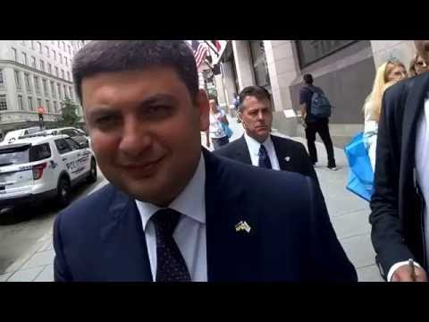 CI Ukraine speaks to Ukraine PM Volodmyr Groysman #NPCLive