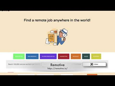 How to find a remote job online