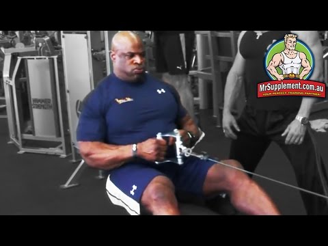 Ronnie Coleman's Seated Cable Row | Back Exercise #3