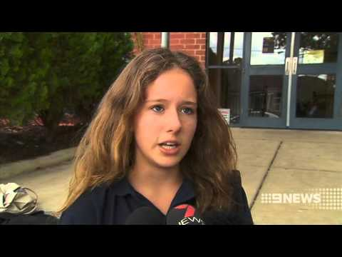 School Lockdown| 9 News Adelaide