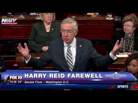MUST WATCH: Sen. Harry Reid's Farewell Remarks on Senate Floor (PART 1 of 2)