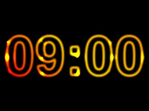 9 Minute Timer ⏰🔔 Countdown Timer 9 Minutes