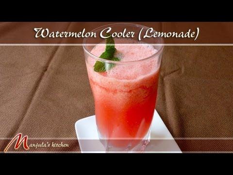 Watermelon Cooler - Lemonade Recipe by Manjula