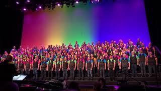 SFGMC performs Somewhere Over the Rainbow