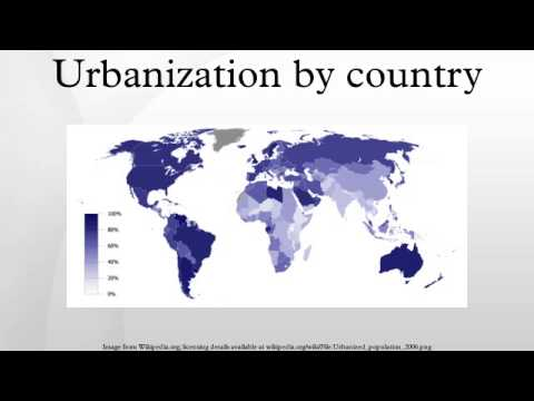 Urbanization by country