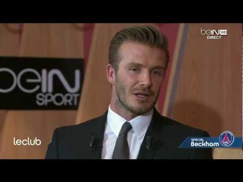 """Exclu - David Beckham sur beIN SPORT : """"Le PSG, un challenge sportif très intéressant"""""""