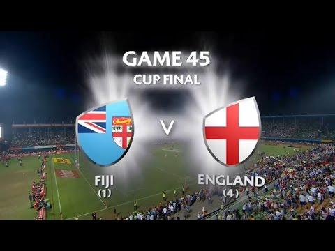 Fiji vs England Dubai 7s 2015/16- Cup Final