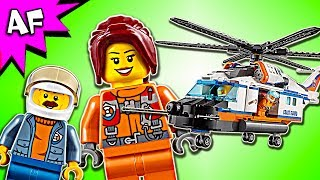 Lego City Coast Guard Heavy-Duty Rescue Helicopter 60166 Speed Build