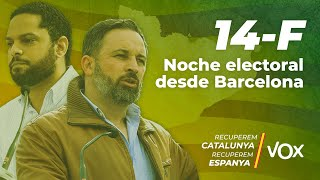 14F - Noche electoral desde Barcelona