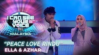 I Can See Your Voice Malaysia : Ella & Azhar - Peace Love Rindu | #ICSYVMY2