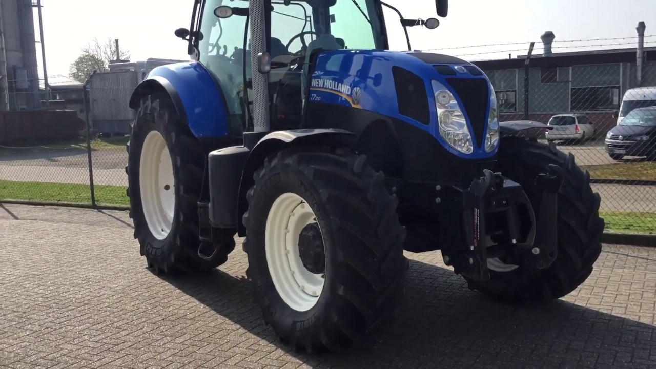 Traktor New Holland T7 210 Range Command, 2013, 3900h, DL, FH, Super Steer,  40kmh, Rees, Germany