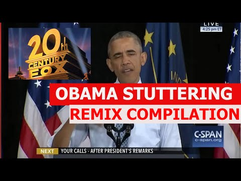 Obama Stuttering (IF IF IF) - REMIX COMPILATION