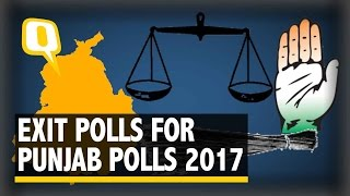 the quint what do exit polls say about punjab assembly election 2017