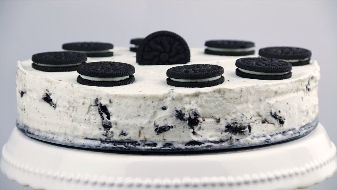 Oreo Kuchen ist das perfekte Käsekuchen Rezept ohne Backen. - YouTube