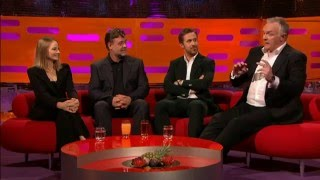 Greg Davies clinging to rock story on Graham Norton