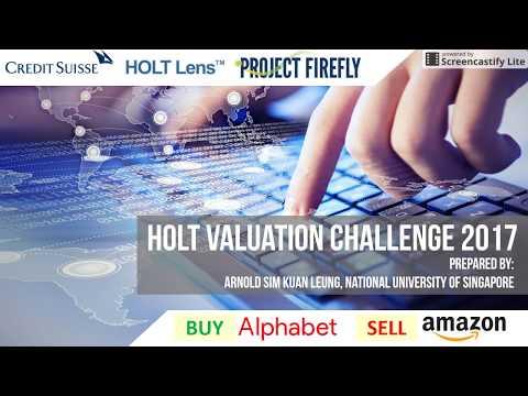 Holt Valuation Challenge 2017 - Alphabet & Amazon