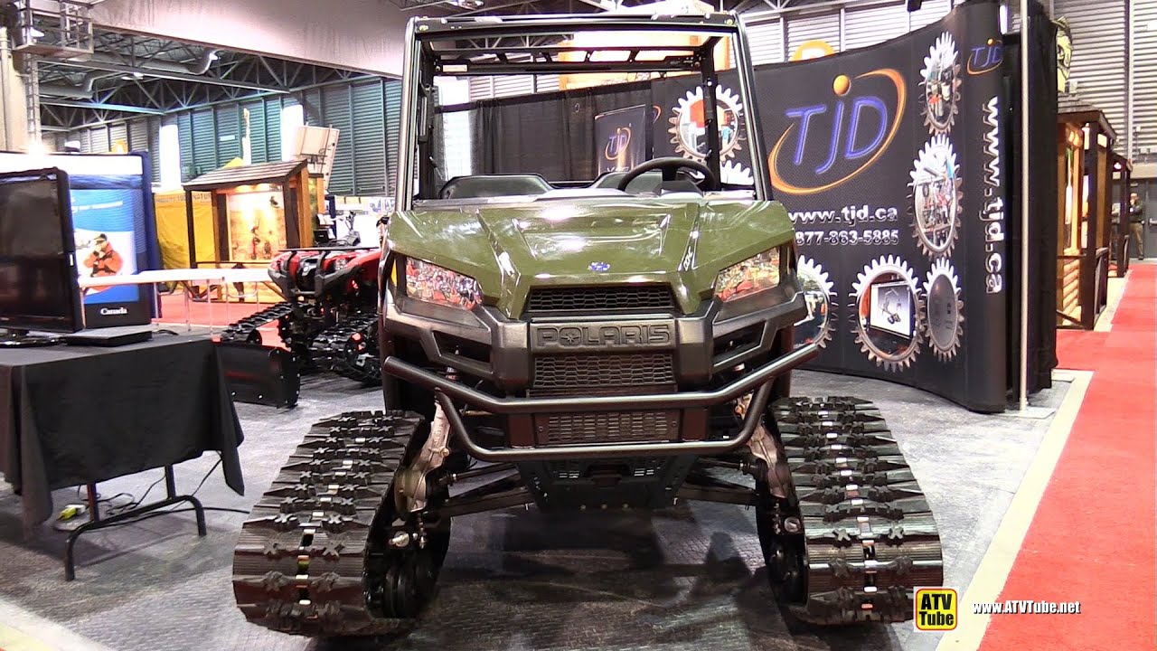 2015 Polaris Ranger 570 Efi With Tjd Track Kit
