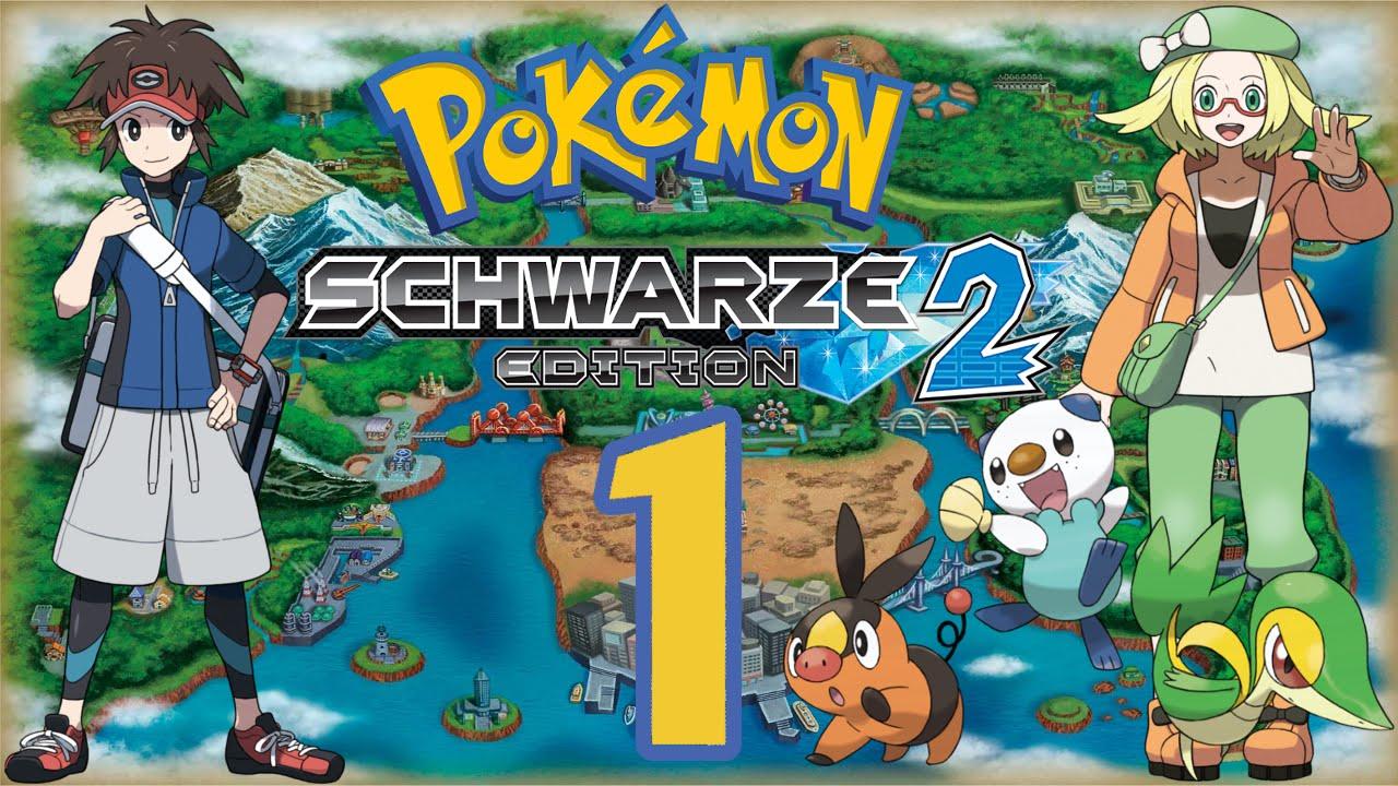 Lets Play Pokemon Schwarz 2 HurdenmodusGerman1 Einall Zwei Jahre Spater