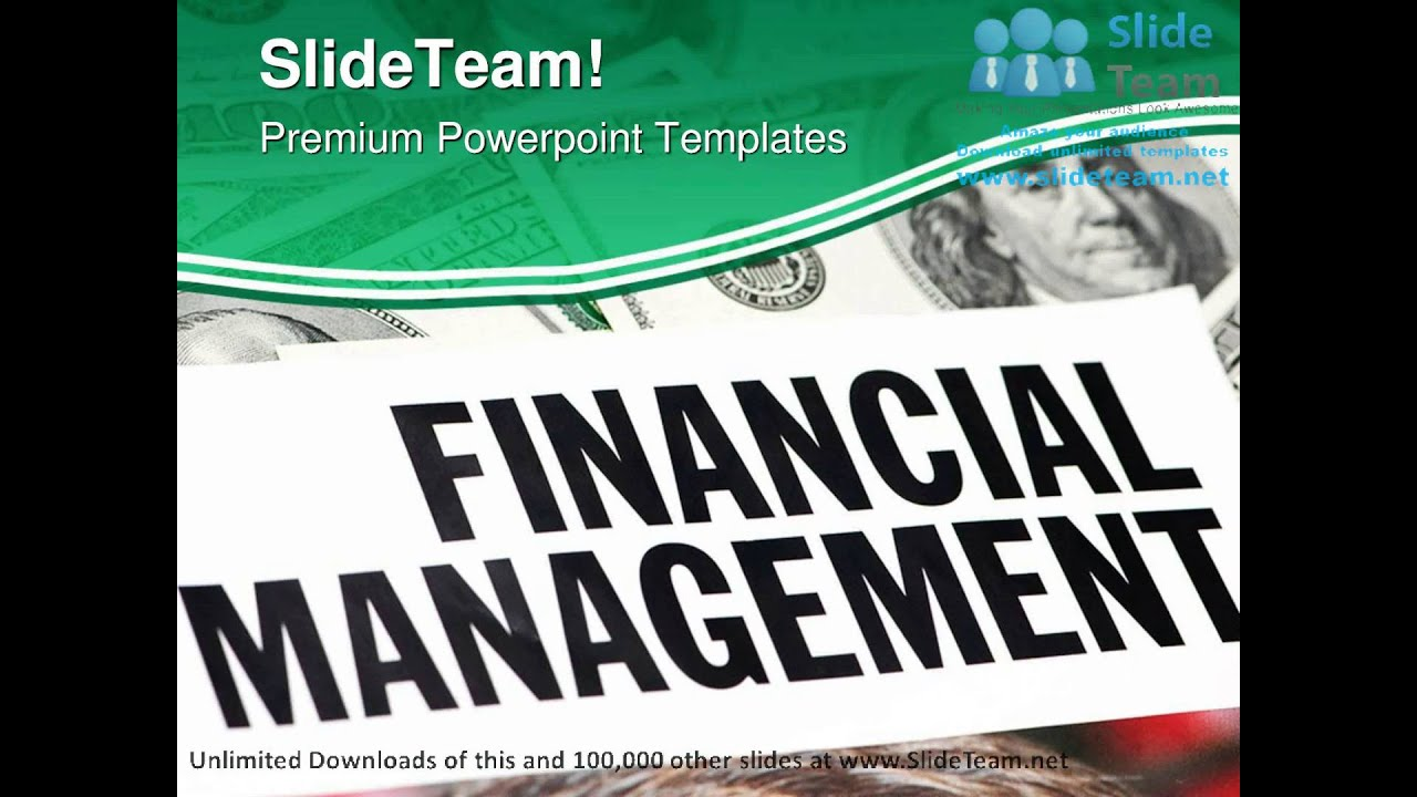 financial management finance powerpoint themes templates
