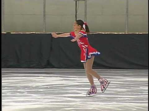 Lauren Perez' ice skating competition
