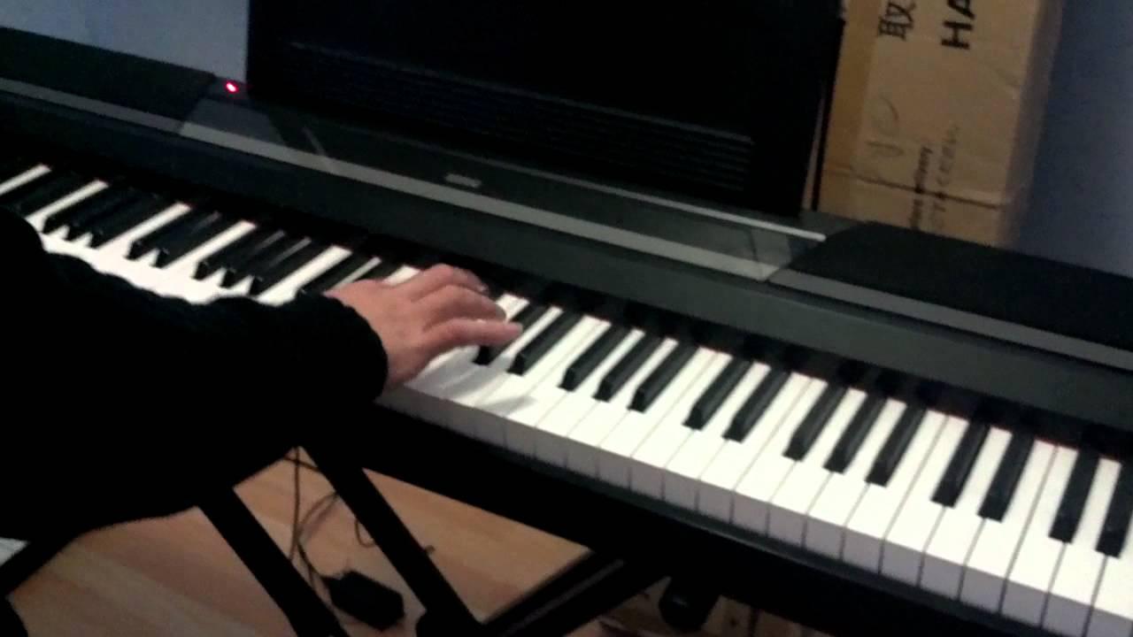 piano digital korg sp 170 youtube. Black Bedroom Furniture Sets. Home Design Ideas