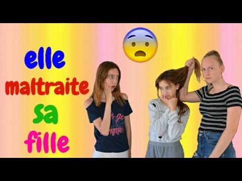 ELLE MALTRAITE SA FILLE 😱  Court métrage