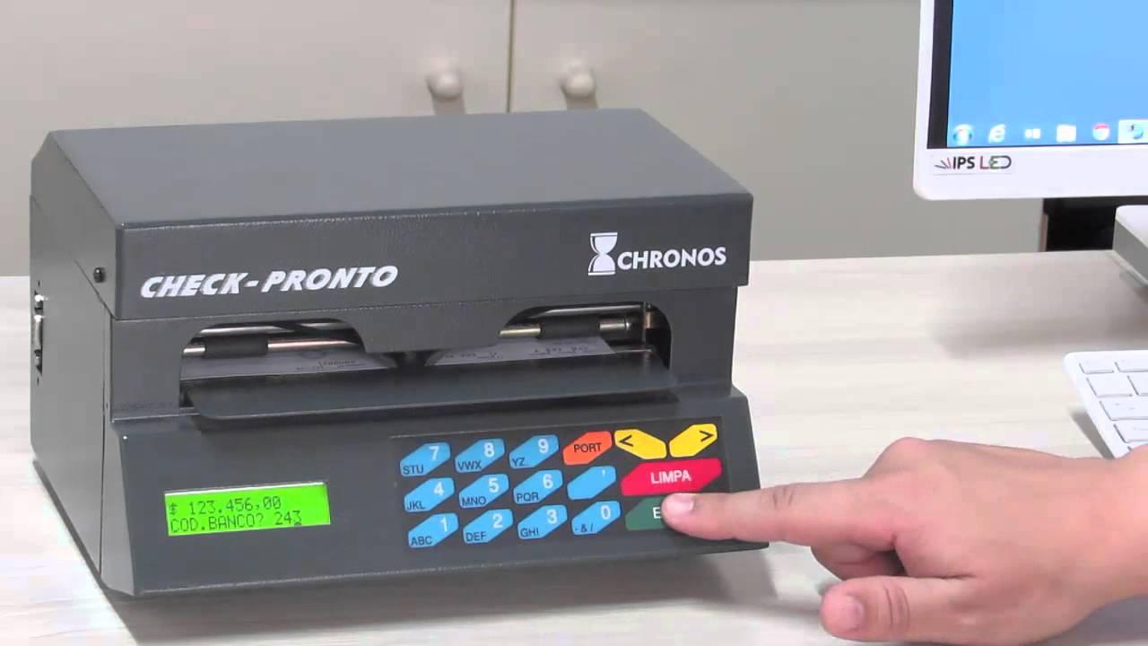 CHECK PRONTO CHRONOS TREIBER