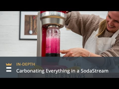 Carbonating Everything In A SodaStream