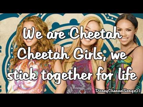 The Cheetah Girls - Cheetah Love With Lyrics