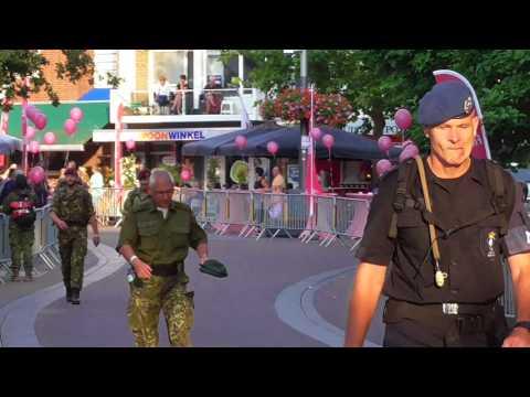 4 Days Marches Nijmegen 2017 day 2 Wijchen part 1 of 8 videos all military