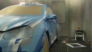 Bastique: Graffiti Art Car #02 (VW Golf V R32)